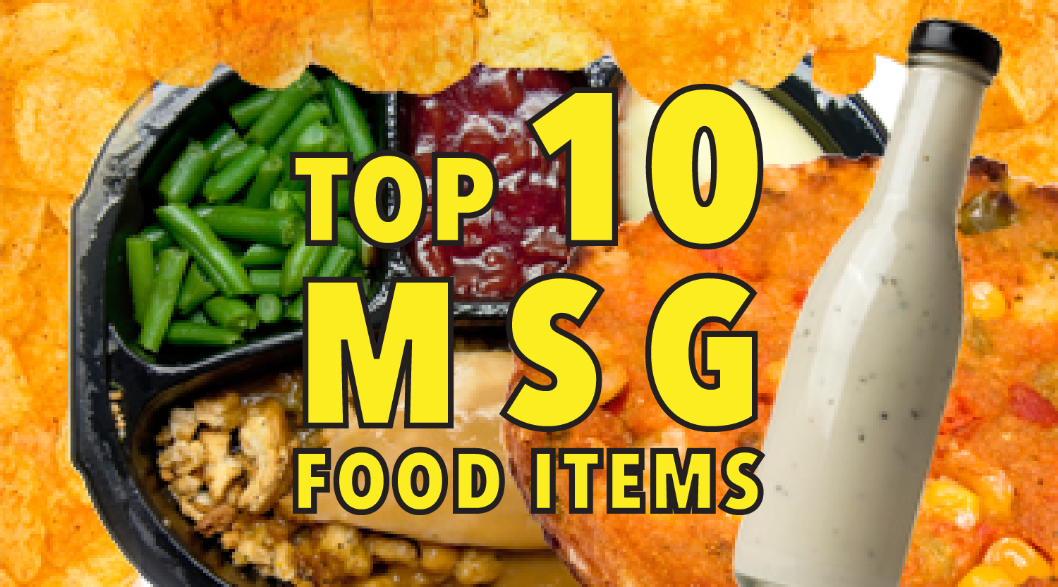 List Of Food Items That Contain Msg