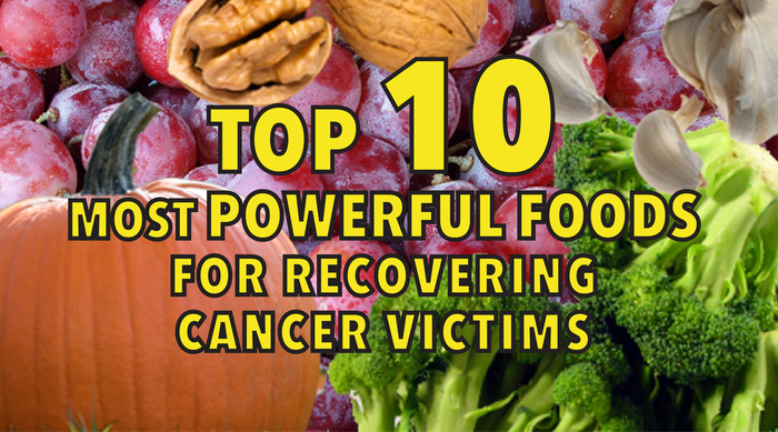 top 10 most powerful foods for recovering cancer victims